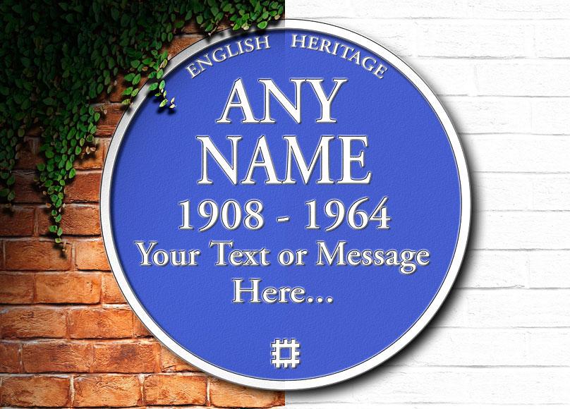 personalised-blue-plaque